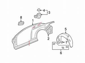 Chevrolet Avalanche Retainer  Trim  Clip  Panel  Door
