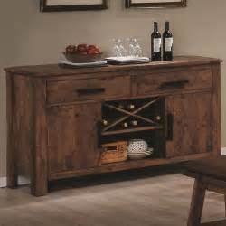 Youth Bedroom Furniture With Desk by Coaster Maddox 103475 Brown Wood Buffet Table In Los