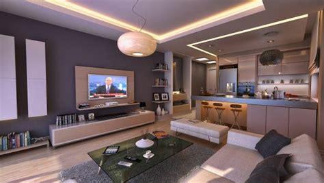Wohnzimmer Küche Kombinieren by Luxus Wohnzimmer Einrichten 70 Moderne Einrichtungsideen