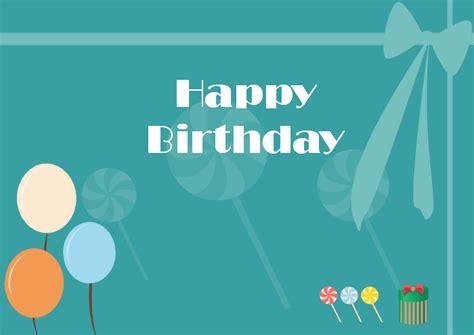 editable  printable birthday card templates