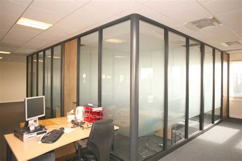 glass top office office glass partitions office furniture
