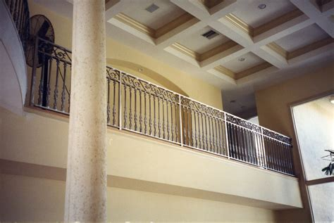 interior balcony railings allied aluminum
