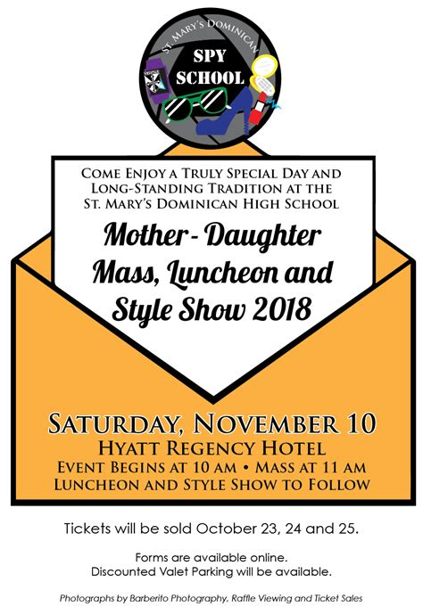 motherdaughterinvitation st marys dominican high school