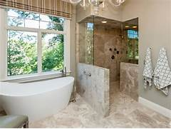 Open Shower Bath Designs by Roman Shower Stalls For Your Master Bathroom
