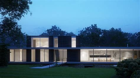 Another Modern Private House Located in Suffolk, UK