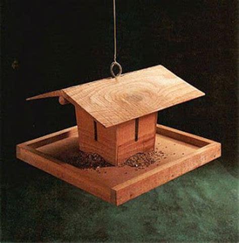 bird feeders plans woodworker magazine