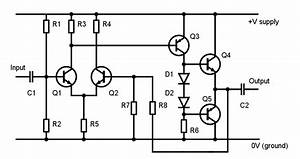 gt circuits gt electronic amplifier l26684 nextgr With ultrasonic range finder regular device free electronic circuits