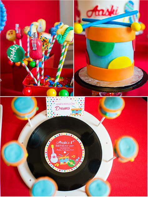 baby jam   inspired st birthday party