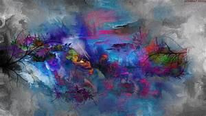 Abstract, Painting, Nature, Hd, Wallpaper