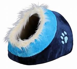 Panier Pour Petit Chien : panier minou bleu bleu fonc pour chat et petit chien confort du chat sur animalerie boutique ~ Teatrodelosmanantiales.com Idées de Décoration