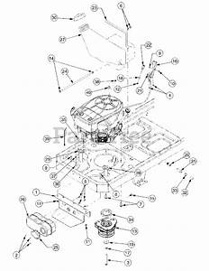 Cub Cadet Parts On The Engine Accessories Kawasaki Diagram