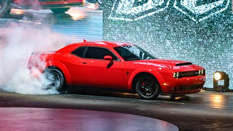 charger demon 2018 2018 dodge demon the frightening muscle car autocarweek com
