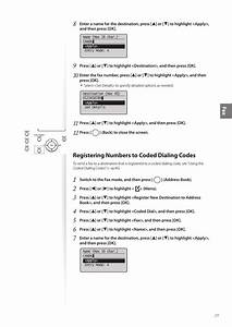 Registering Numbers To Coded Dialing Codes  Fa X