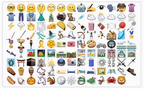 Une Ribambelle De Nouveaux Emojis Dans Ios 9.1