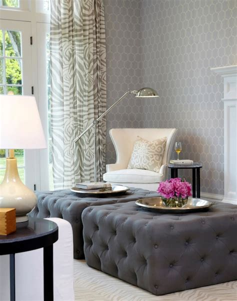 Living Room Wallpaper Lilac by Lilac And Gray Living Room Design Ideas