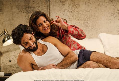 Threesome Alia Attallah As Leila And Dominic Rains As