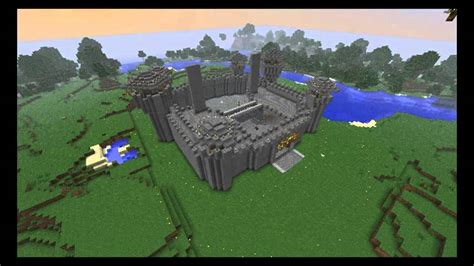 siege on castle steve minecraft timelapse the steve 39 s castle