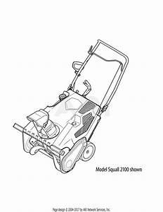 Troy Bilt 31as2t5f711 Squall 2100  2012  Parts Diagram For