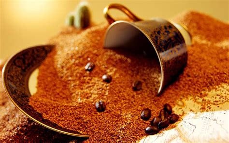 cuisine cappuccino spilled coffee wallpapers and images wallpapers
