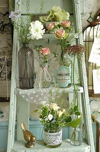 Hob, Nobbers, 10, Ways, To, Decorate, With, Vintage, Ladders