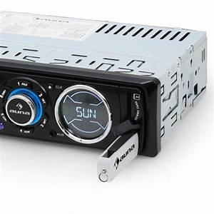 Usb Radio Auto : md 180 autoradio ukw rds usb sd mp3 aux led din iso ~ Kayakingforconservation.com Haus und Dekorationen