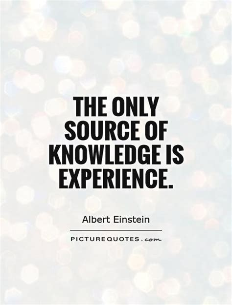 source  knowledge  experience picture quotes