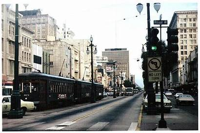 Orleans 1977 Canal Street Fifties Much 1950s