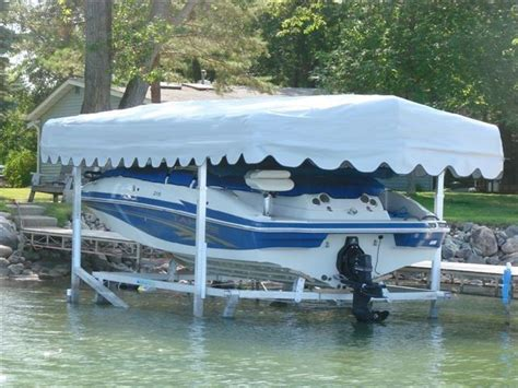Boat Dock Canopy Covers by Hewitt Replacement Boat Lift Canopy Covers Various