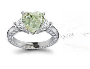black and green engagement ring green diamonds colored diamonds jewelry rings