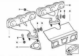 Original Parts For E46 320i M52 Sedan    Engine   Exhaust Manifold