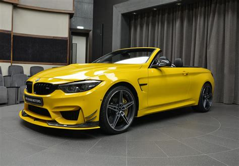 Anyone For An Ac Schnitzer Speed Yellow Bmw M4 Convertible?