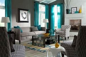 Graue Couch Wohnzimmer : farbgestaltung wohnzimmer interieurgestaltung ~ Michelbontemps.com Haus und Dekorationen