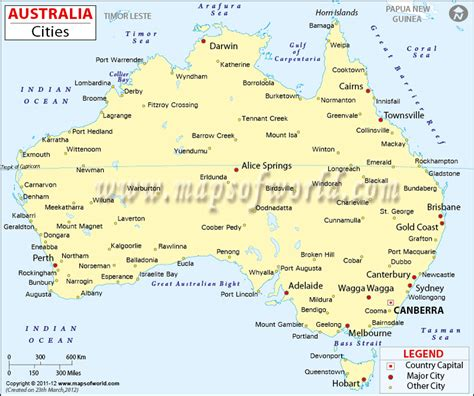 cities  australia map  australia cities maps  world