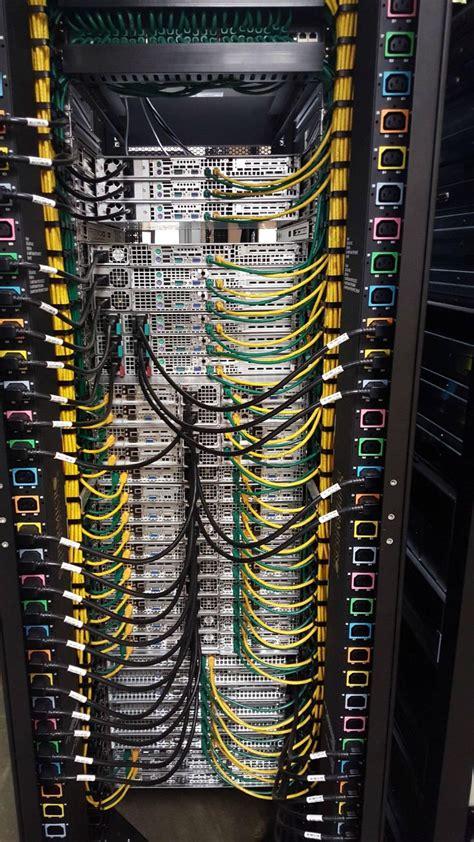 rack teams work data center design computer network server rack