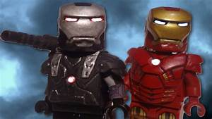 LEGO Marvel : Custom Iron Man MK 7 & War Machine ...