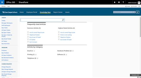 Office 365 Help Desk by Help Desk For Office 365 And Sharepoint Reviews And