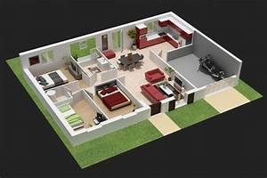 interieur maison en 3d With logiciel de maison 3d 1 modelisation dune maison en 3d
