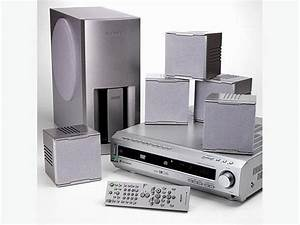 Sony Home Theater Surround Sound System With 5