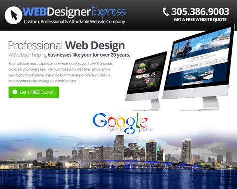 web designer miami need a website professional web design company