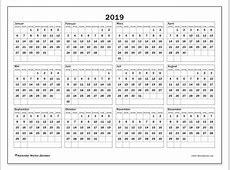 Kalender 2019 SS Michel Zbinden