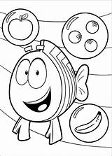 Bubble Guppies Coloring Pages Grouper Printable Mr Print sketch template