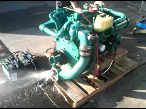 river city boat works volvo penta ad turbo diesel youtube