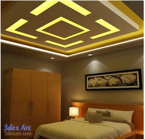 Kitchen Ceiling Fan Ideas - new false ceiling designs ideas for bedroom 2018 with led lights
