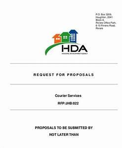 9 sample service proposal letters sample templates With courier service proposal letter