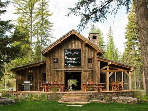 Rustic Barn Home Plans Rustic Barn Home Plans With Stone