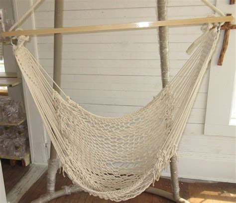 Cotton Rope Hammock by Castaway Hammocks Single Cotton Rope Hammock Swing By