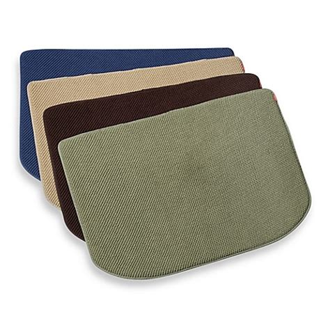 memory foam kitchen floor mat microdry 174 memory foam luxury kitchen mat bed bath beyond 9139