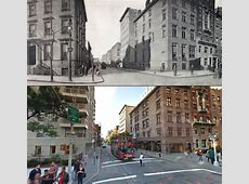 Fifth Avenue Then and Now, a Century of Streetviews in New