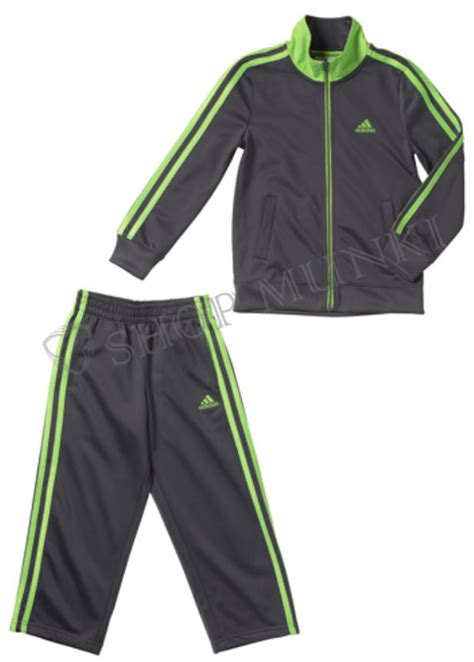 Adidas Boys Active Tracksuit Jacket/Pant Outfit Set