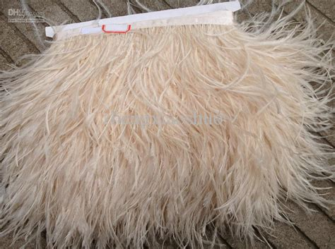 yardsivory ostrich feather trimming fringe